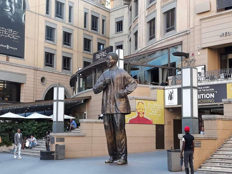 The Nelson Mandela Square in Sandton